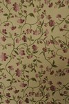 B1410 - Beautiful Unused Panel Vintage French Cotton Brocade Curtain / Upholstery Fabric