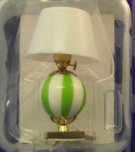 Table Lamp  Green and White Base TL 004