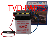 Battery 6V cbc 6n4-2A Honda MB MT 50/80 (will be delivered whitout battery acid)