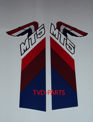 Tanks sticker MT50 1987 (white/blue/brown/red/white)