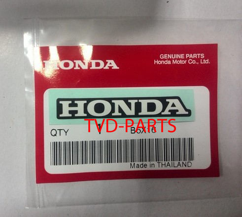 Sticker Honda  white 50mm