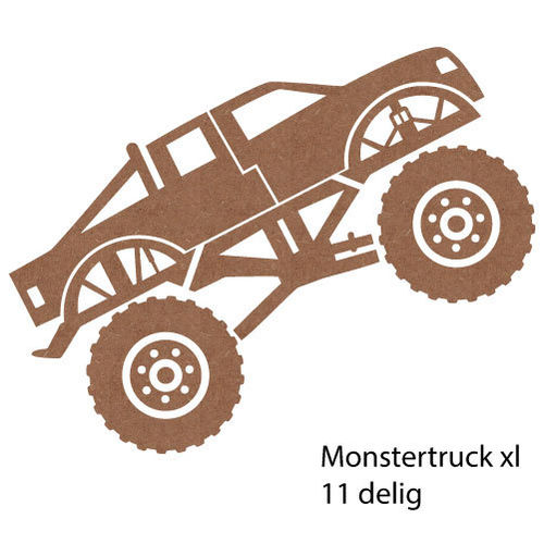 Monstertruck | 120cm breed