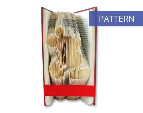 Bookfolding Patterns Mickey Mouse Standing