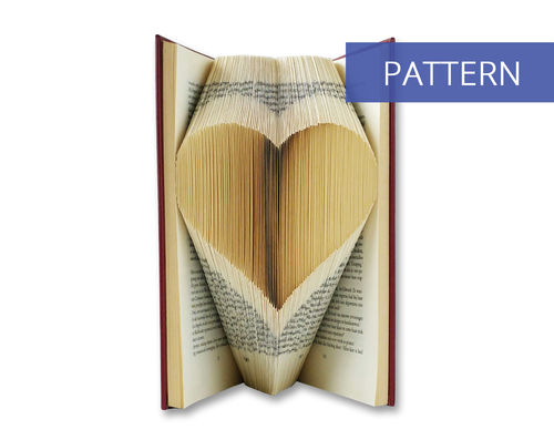 Folded Book Patterns Heart