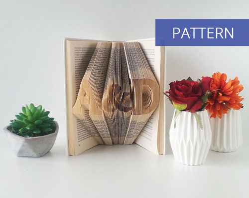 Custom DIY Pattern Initials with an ampersand