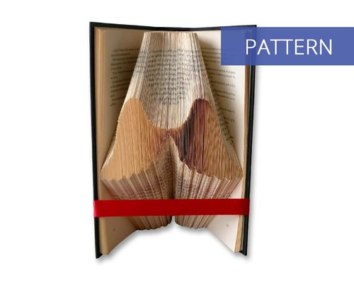 Folded Book art pattern Angelwings