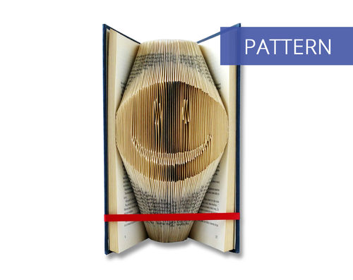Bookfolding patterns Smily