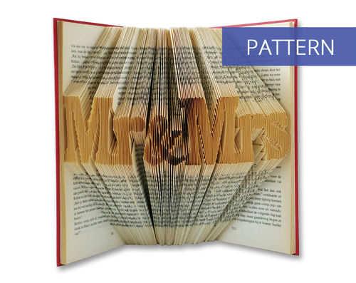 Folded Book Patterns Mr & Mrs