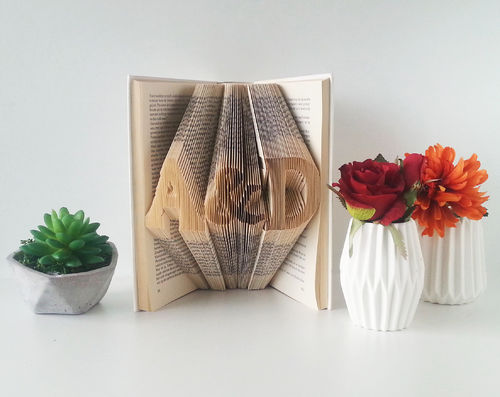 Initials with an Ampersand - Folded Book