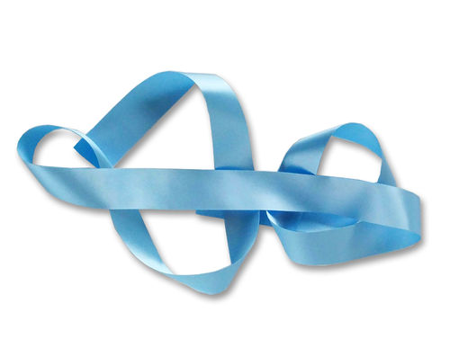 Custom Printed Ribbon - Baby Blue