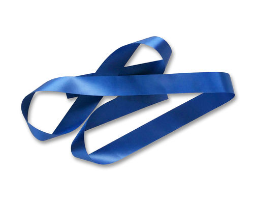 Custom Printed Ribbon - Blue