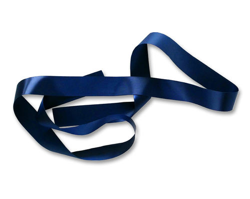 Custom Printed Ribbon - Navy Blue