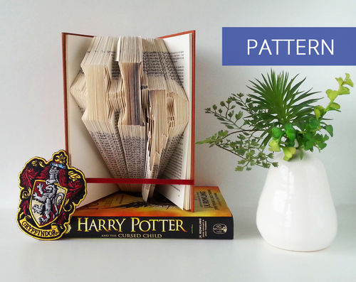 Folded Book Patterns Harry Potter Logo