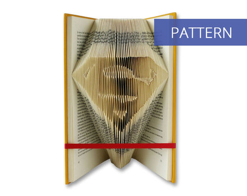Bookfolding patterns Superman