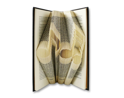 Musical Notes - Folded Book