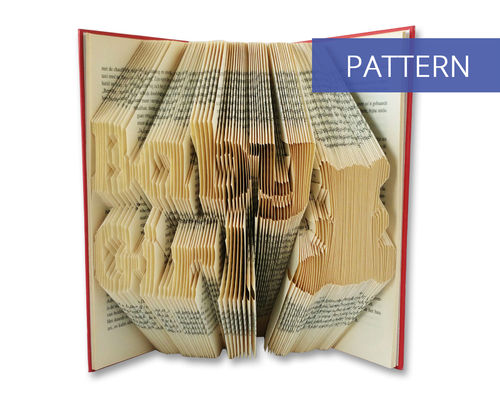 Bookfolding patterns Baby Girl