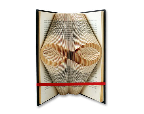Infinity Symbol - Folded Book