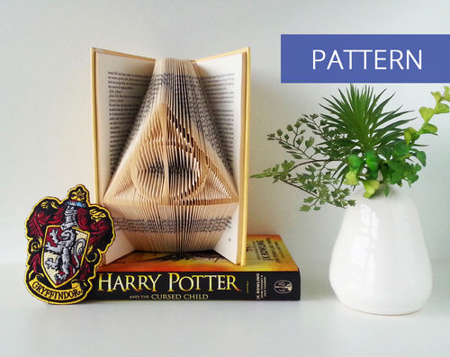 Folded Book Patterns Harry Potter Deathly Hallows Sign
