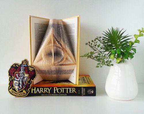 Harry Potter Deathly Hallows Sign - Folded Book