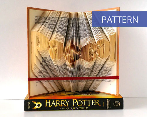 Custom DIY Pattern Name in Harry Potter style