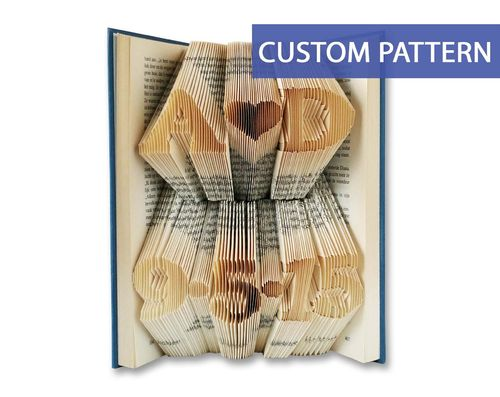 2 Lined Pattern - Custom Initials and custom date