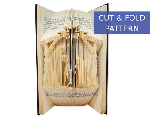 Folded Book Art Pattern - Cut & Fold - Crib