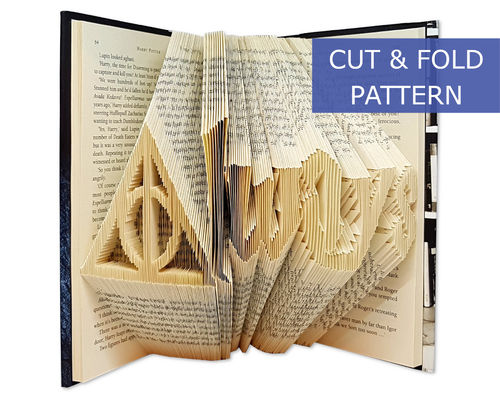 Folded Book Art Pattern - Cut & Fold - Always