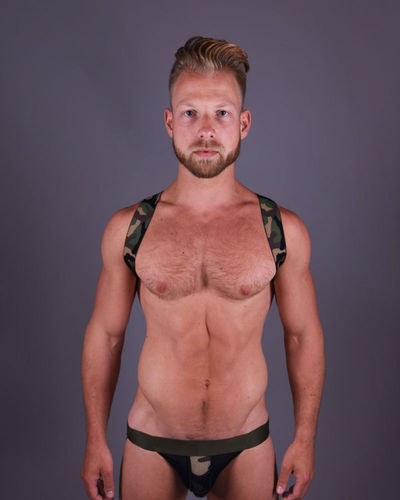 Army Green Sling Harness