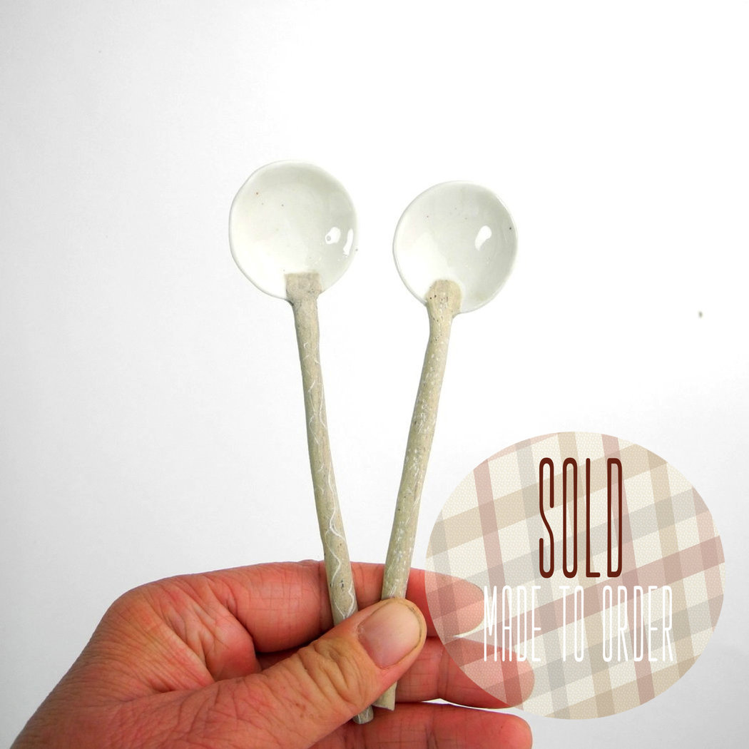 Recycled Noot medium spoons - set of 2.