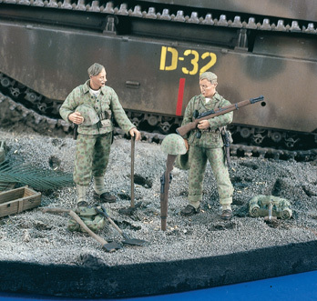 Shallow Grave marines WWII (2 fig.)