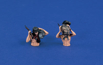 Wading German Soldiers (2 PCS.)