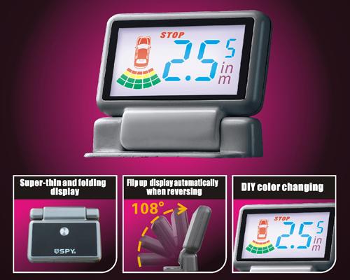 Parkeerhulp LCD Klap Colour