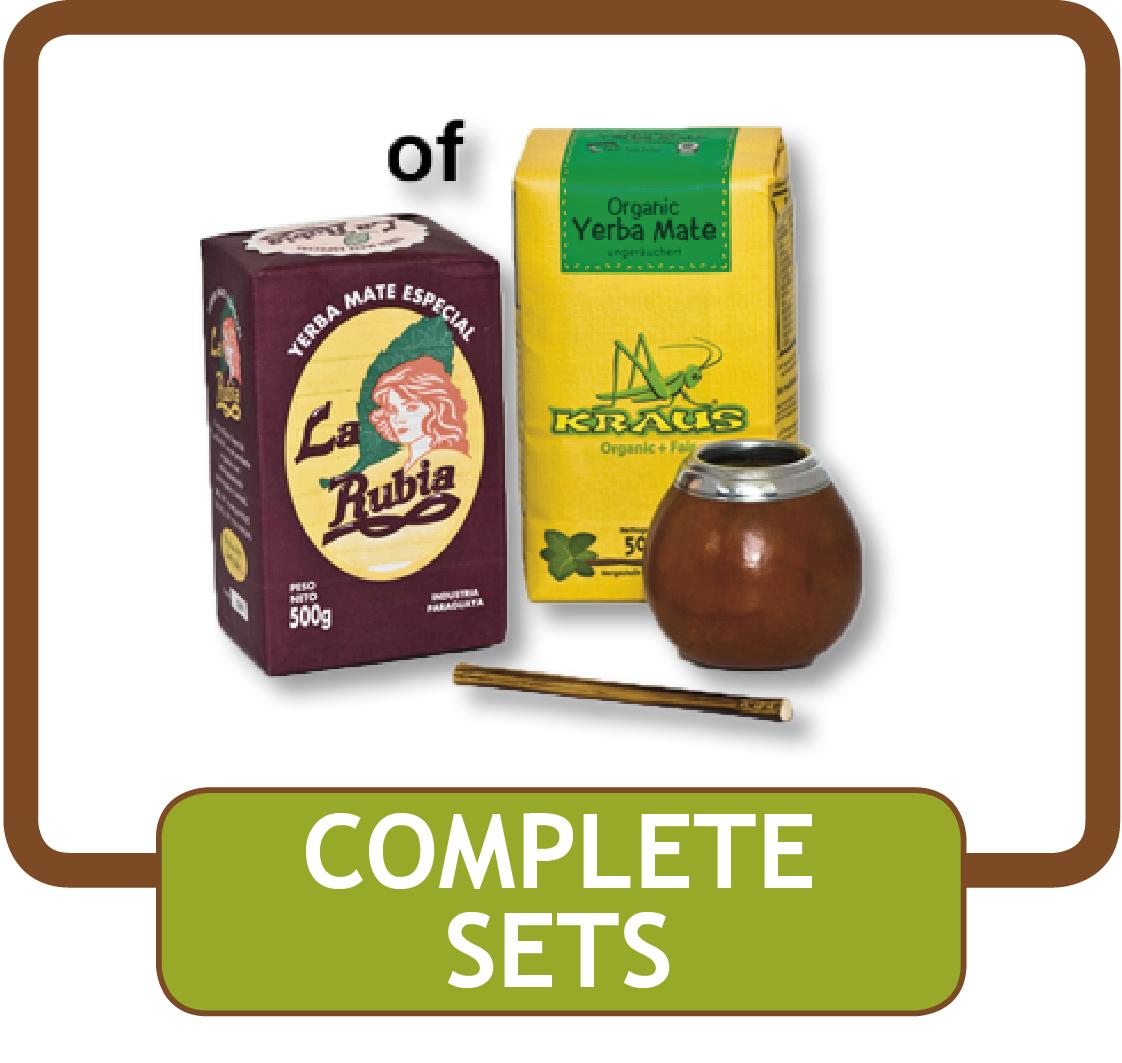 webwinkel voor yerba mate complete sets