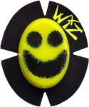 Code WIZ Smiley Fluo yellow Black