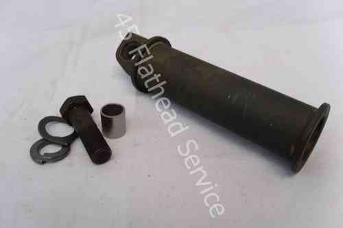 pedal, starter, military models,round metal type WLA, now with bolt set