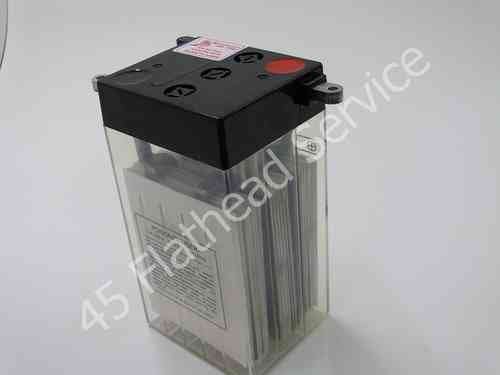 battery, 6 volt GS style, dry charged CB2-6