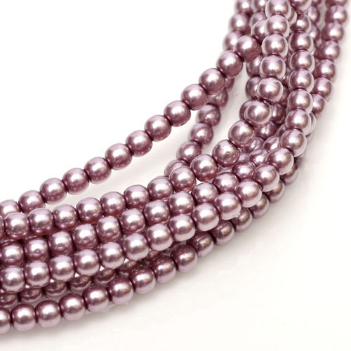 Glass Pearl 3mm - Orchid x150