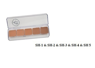 "FOUNDATION-RCMA - 5 delig ""SHINTO"" Palette"