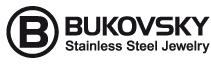 Bukovsky Stainless Steel Jewelry. Roestvrij stalen armbanden, halskettingen en ringen. Voor hem en haar. Met 2 jaar Garantie tegen verkleuren.