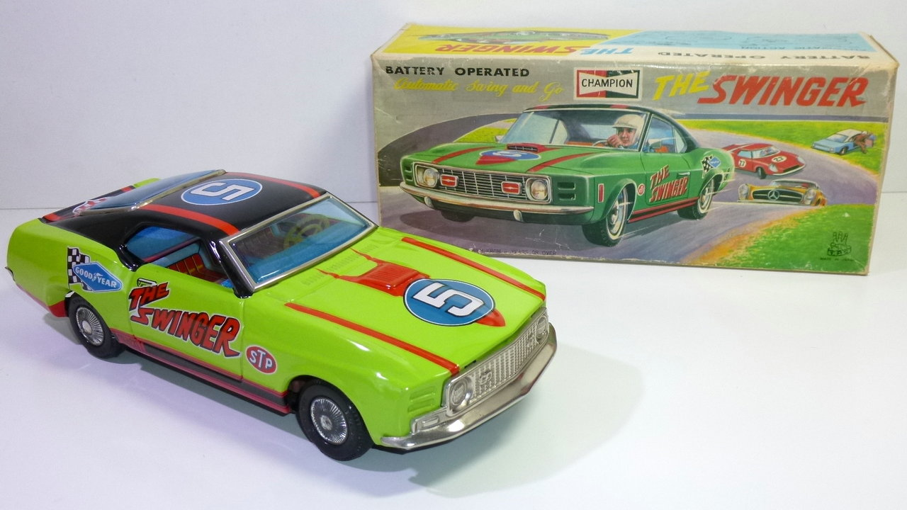 "T.P.S. # 1960's FORD MUSTANG MACH 1 ""The Swinger"" in Original Box"