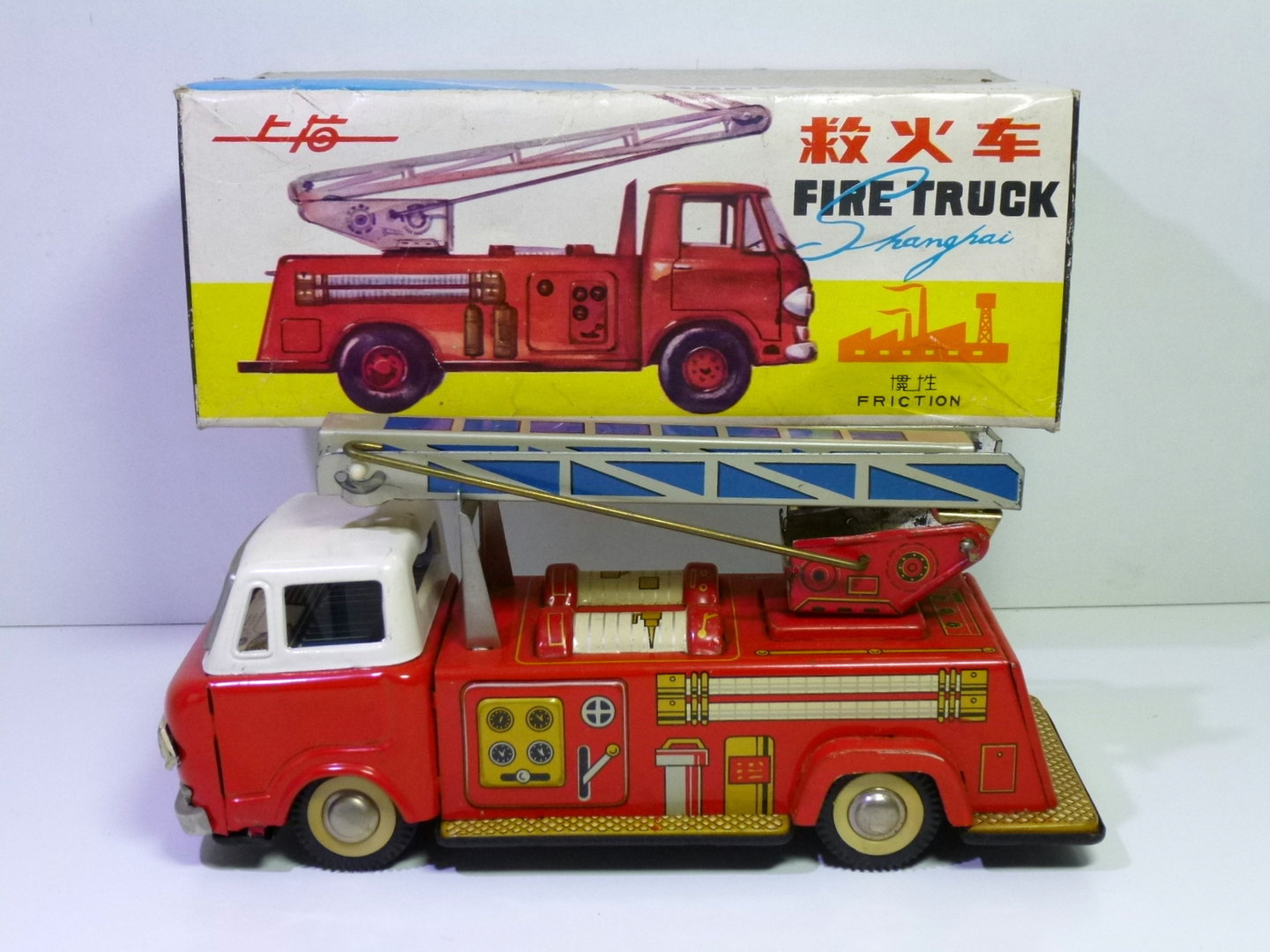 Chinese MF 167 # Shanghai Fire Truck in Box !!