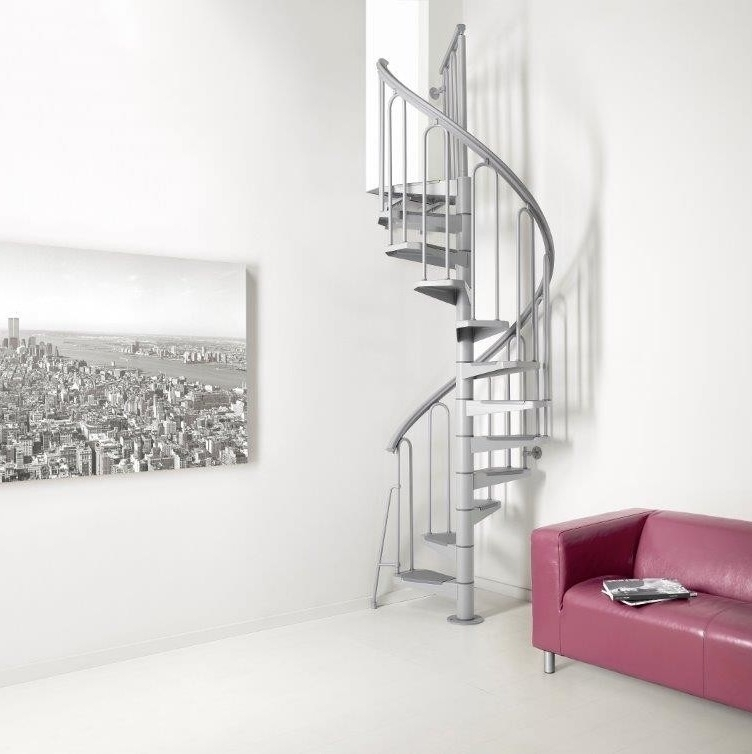 "Space Saving Spiral Staircase Type ""Napoli"""