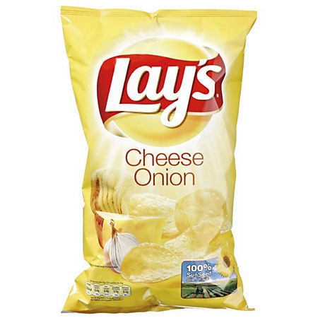 CHIPS.Cheese Onion 3x175 gram Lay's