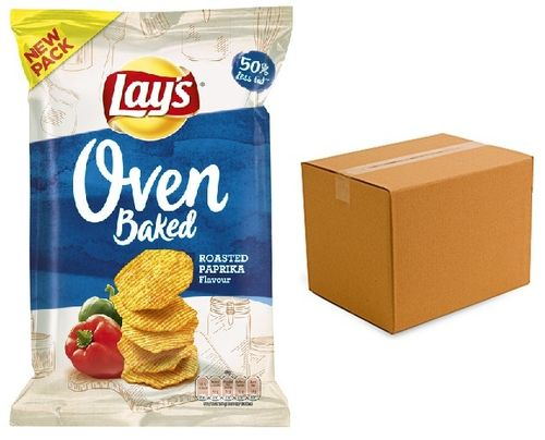 CHIPS.Paprika Oven Roast 10 x150 gram Lay's