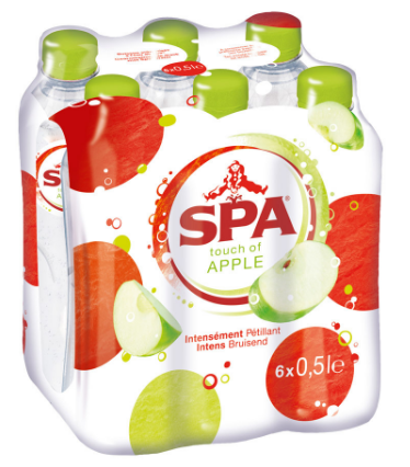 FRIS.Spa Touch of Apple Pet/Tray 6x50cl
