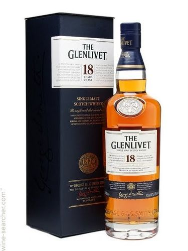 GEDIST.The Glenlivet 18Years Scotch Whisky Single Malt 70cl