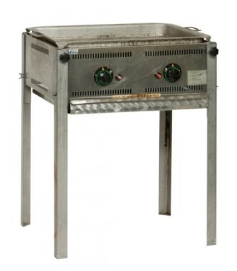 Barbecue 50x70cm incl. bakplaat