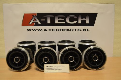 Luchtroosters A3 8V S-line 8v0820901a m184 m207
