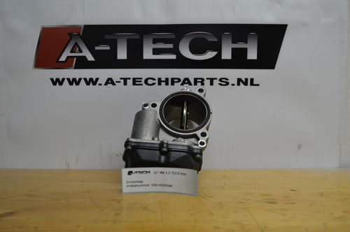 Gasklephuis Smoorklep Q7 4M 3.0 TDI 059145950ah