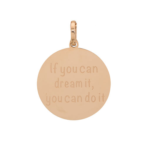 "iXXXi Hanger ""If you can dream it, you can do it"" Rosé"